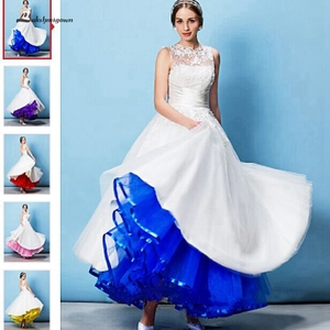Image 1 - Lakshmigown uma linha tule underskirt feminino sem aros 100cm até o chão vestido de casamento saias acessórios de noiva 2019