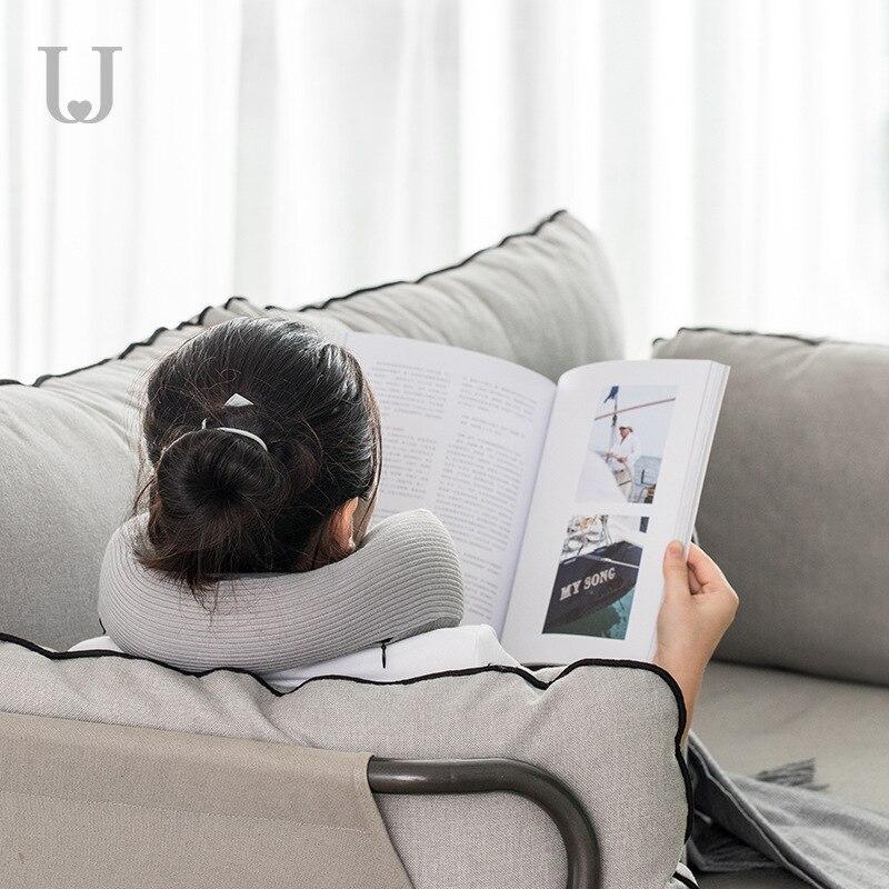 Jordan judy U shaped Memory Pillow Cervical Neck Pillow Aircraft Pillow Sleeping Artifact Student Nap Travel Pillow in Spoons from Home Garden