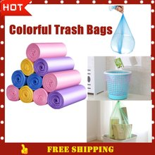 Хорошее качество цветные мешки для мусора 5 видов цветов мешок