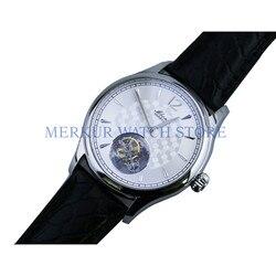 AD30 BOND męski mechaniczny zegarek ręczny TianJin ST8000 zegarek Tourbillon