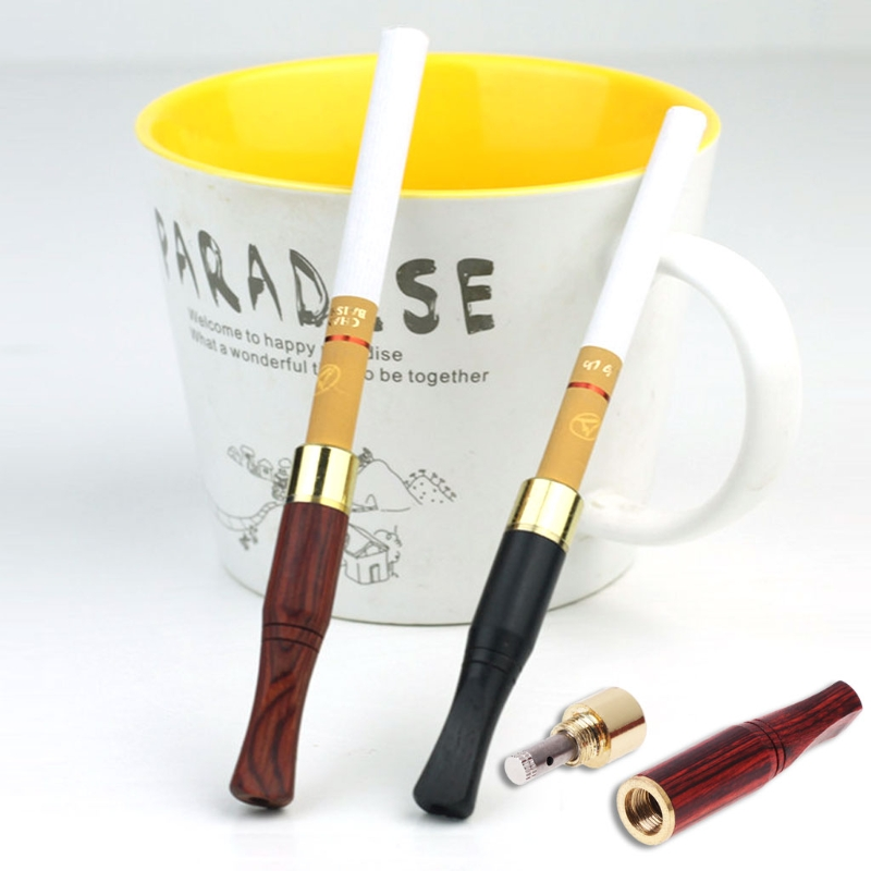 Smoking Pipe Bit Straight Filter Wooden Polish Smoke 6mm/8mm Cigarette Holder