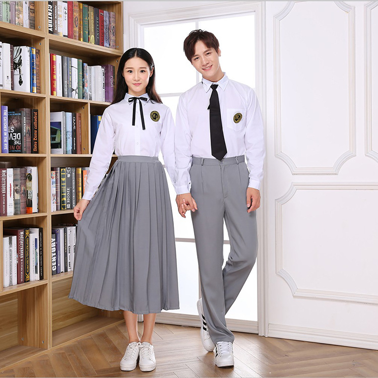 New Style School Uniform Korean-style In Students Men And Women School Uniform England College Style Sailor Suit Uniform Busines