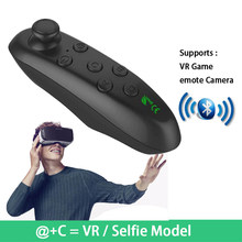 Wireless Bluetooth Gamepad Update VR Remote Controller For Android Joystick Game Pad Control For 3D Glasses VR BOX Shinecon(China)
