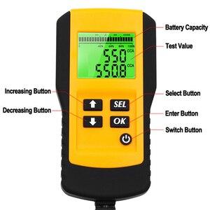 Image 5 - Probador Digital profesional de batería de coche, Analizador de prueba de carga para resistencia a voltaje y batería de ciclo profundo, 12V, 10 Uds.