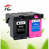 Compatible para HP 63 63XL remanufacturados cartuchos de tinta, cartuchos de HP63 Deskjet serie 1110, 1112, 2130, 2131, 2132, 2133, 2134, 3630