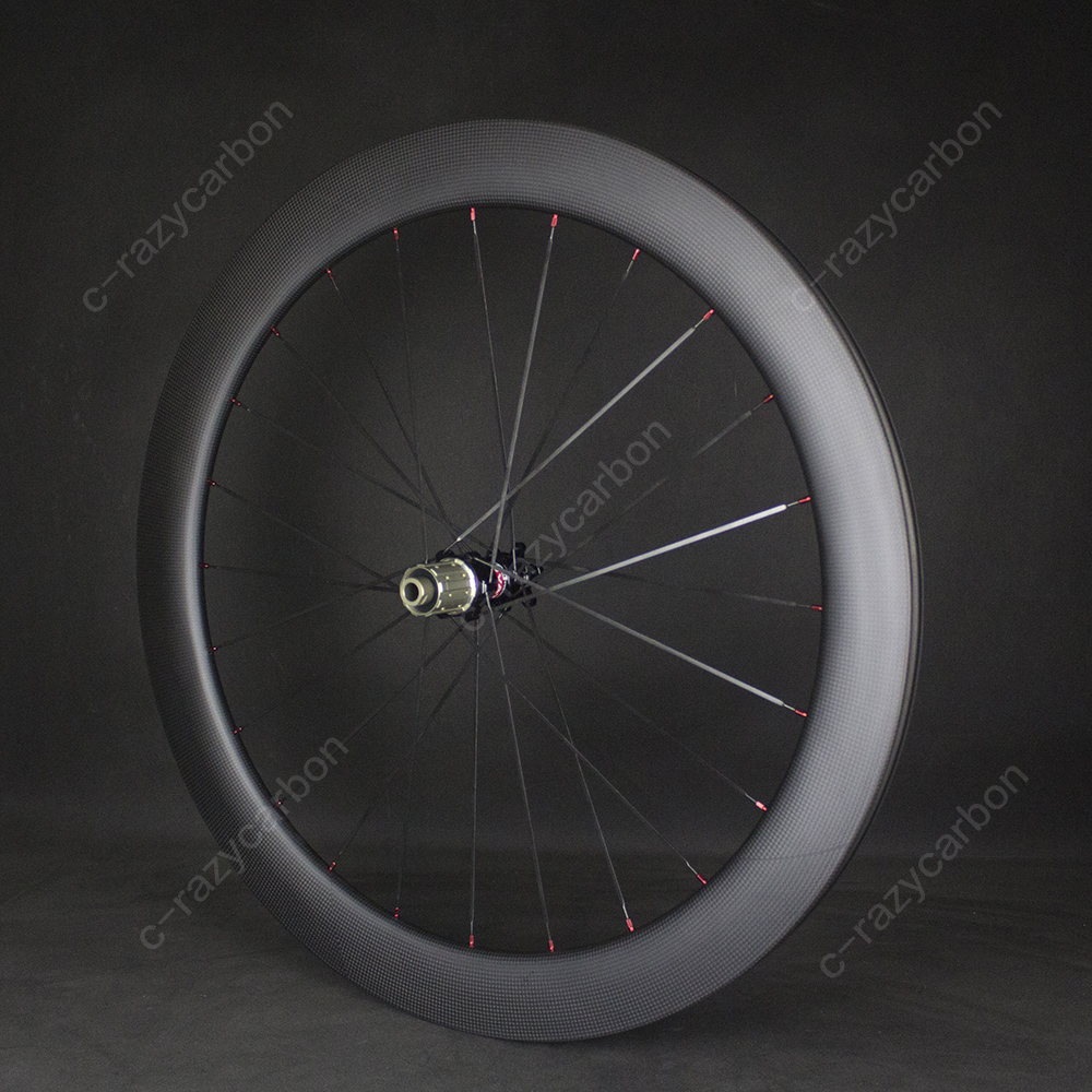 Image 3 - Best Carbon Road Race Wheels For Sale Cycling R13 D Disc Brake Center Lock Best  Clincher/Tubeless Disc Brake Road Bike WheelsBicycle Wheel   -