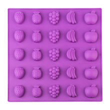New Miniature Candy Mold Fruit Silicone Candy Mold Gummy Candy Mold Sugarcraft Tools best 2020 Fruit candy mold candy moyo cmh53