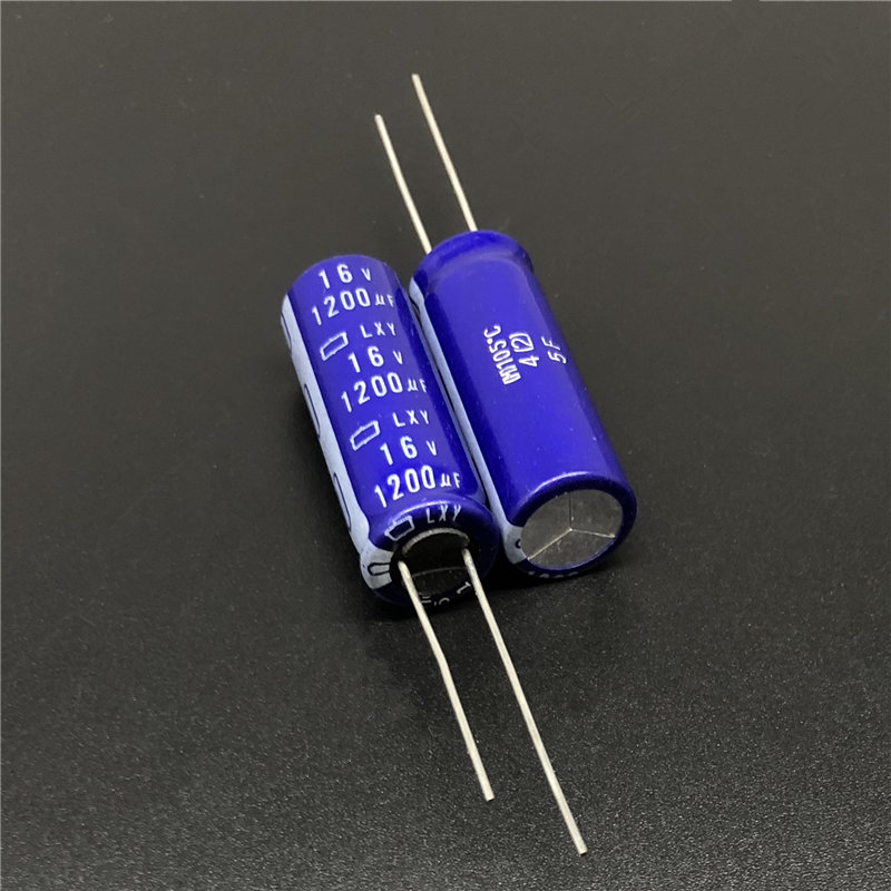 5Pcs/20Pcs 1200uF 16V NCC LXY 8x20mm Low Impedance Long Life 16V1200uF Aluminum Electrolytic Capacitor