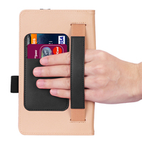 style protective For Lenovo Tab M7 TB-7305F Tablet Case Retro Style PU Leather Case Flip Stand Card Slots Protective Cover And Elastic Hand Strap (5)