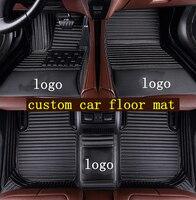 Custom Car Floor Mats Fit for 2007 2020 Geely GC6 mat LC (Panda) LC (Panda) Cross MK Cross High quality