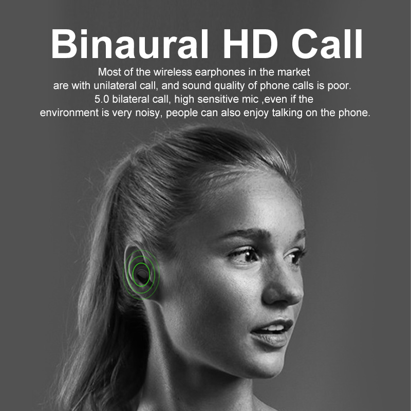 Hot DealsBluetooth Earphone Earbuds Mini Headset Sport-Earpiece Sound Handsfree Gaming Stereo