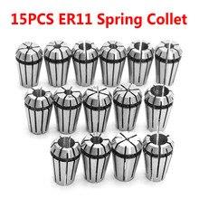 15 個ER11 春コレットセットcnc彫刻機 & フライス旋盤ツールツールホルダーをfreeshipping