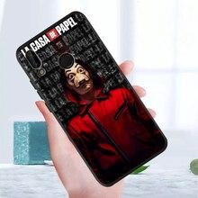 hot Spain TV La Casa papel Heist House Paper phone case For Huawei P40 P30 P20 P10 P8 Lite 2017 Mate 30 20 10 Lite Pro etui tpu