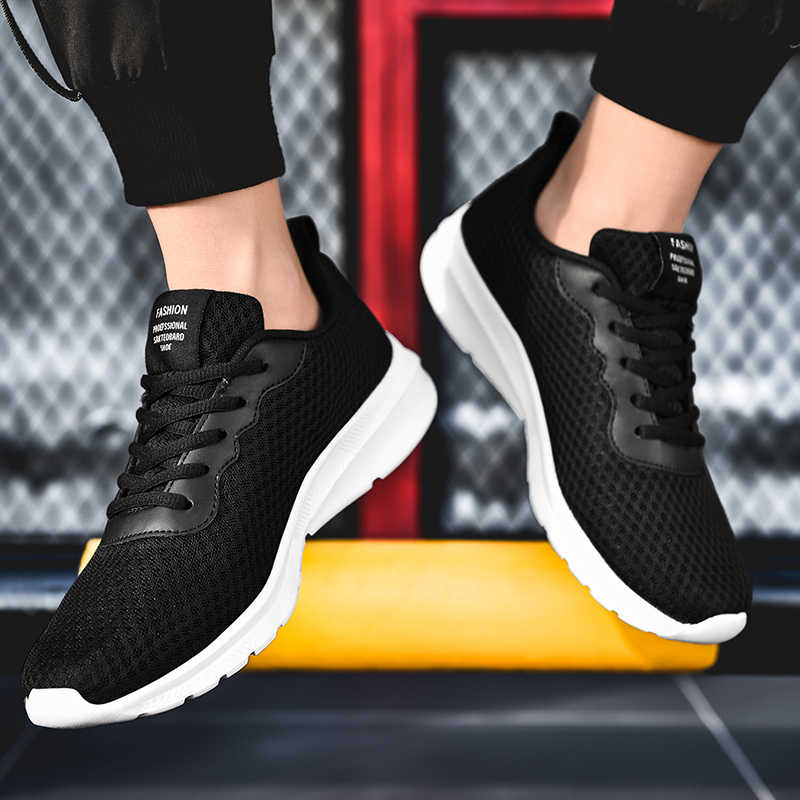 REETENE 2020 남자를위한 새로운 여름 운동 화 통기성 메쉬 남자 캐주얼 신발 패션 남자 여름 신발 빛 신발 남자 39-48