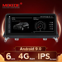 10.25 multimédia automatique d'autoradio Android9.0 d'écran de pouce 6G + 64G IPS pour le système Original CCC ou CIC de BMW X5 E70 X6 E71 2007-2013
