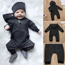лучшая цена Children Kids Hoodie Long Sleeve Jumpsuit Zipper Hooded Clothes Fashion Clothing 998
