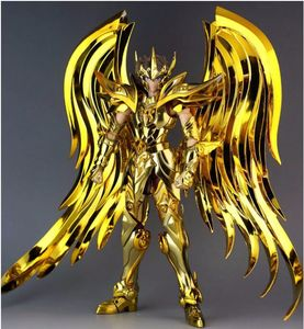 Image 2 - in stock Great Toys Sagittarius Aiolos SOG Ex action figure toy metal armor soul of gold