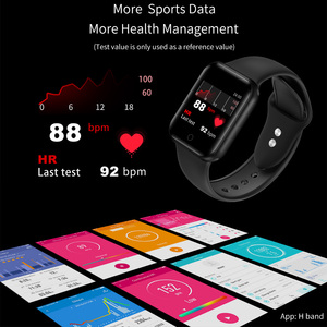 Image 3 - RUNDOING NY07 women smartwatch Waterproof Blood pressure Heart rate fitness tracker male sport smart watch For Android IOS