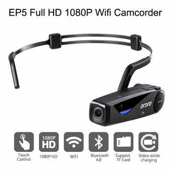 ORDRO EP5 cabeza acción Mini DV videocámara Full HD 1080P Video cámara Wifi incorporado Wifi micrófono Bluetooth 1920*1080 #20