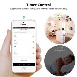 Image 4 - Zemismart NOUS Tuya Commutateur de Lumière WiFi Neutre OptionalWire 1 2 3 Gangs Alexa Google Home Assistant Vie Intelligente Contrôle 220v 240V