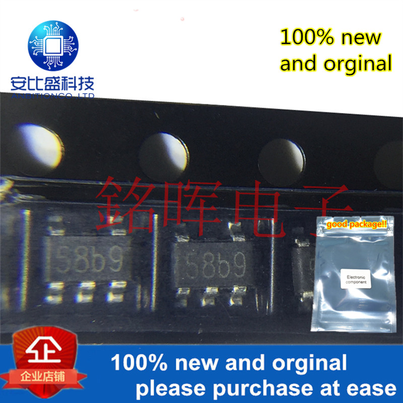 10pcs 100% New And Orginal TP4058 Silk-screen 58b SOT23-5 600mA Linear Li-Ion Battery Charger In Stock