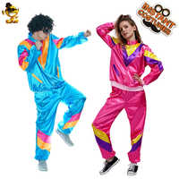 Women's Men's Hippie Costume Halloween Party Fancy Dress Funny Carnival Party Costumes For Cheer Party Role Play Hippie Suit