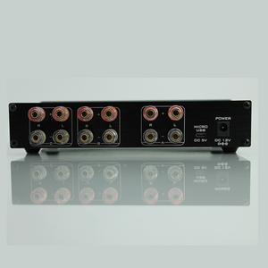Image 4 - חדש FX אודיו PW 6 Amplificador HIFI דיגיטלי אודיו מגבר Switcher Spiltter בורר מוצלב 2 דרך רמקול Amp ממיר