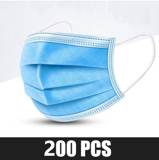 200 pcs Blue