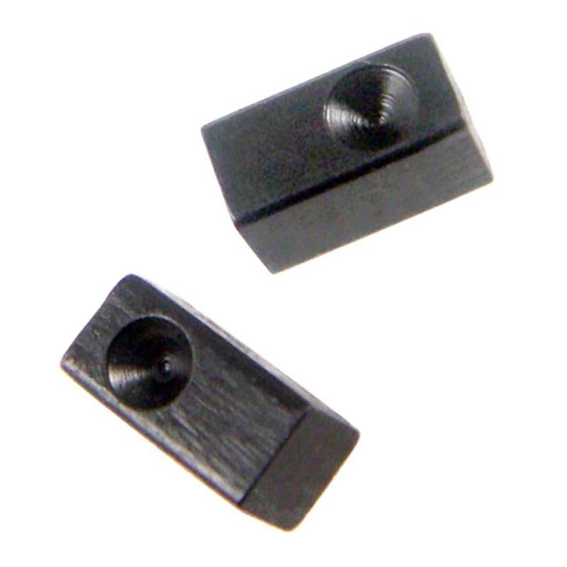 6 Pieces Guitar Tremolo Bridge Saddle Clamp Pressure Lock String Insert Metal Block for Electric Guitar Parts Accessories