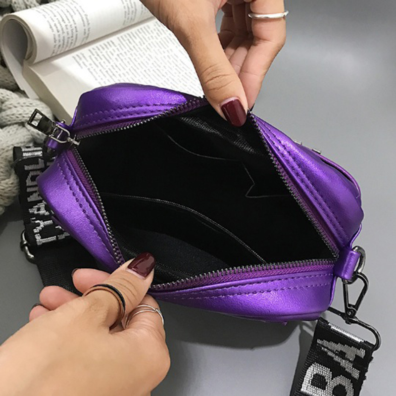 Woman shoulder bag messenger bags 2019 tide hand shoulder diagonal women small women's fashion leather handbag