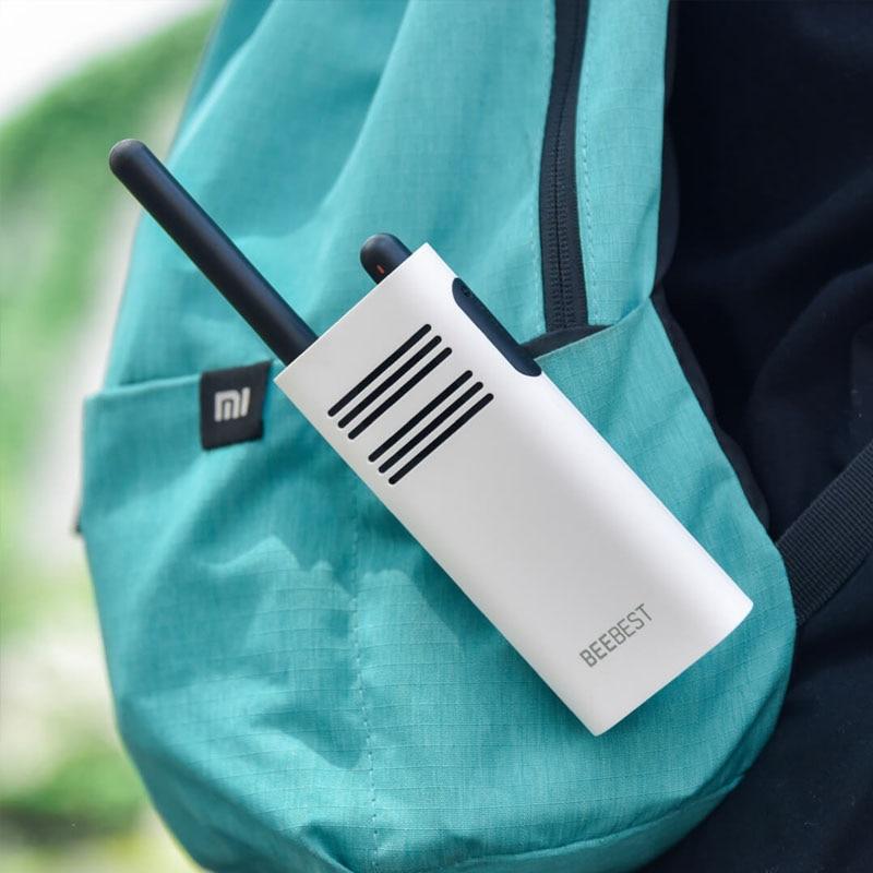 Image 4 - Original Xiaomi Beebest Smart Walkie talkie 1 5 km call 16 channel anti jamming Long standby handheld smart interphone-in Walkie Talkie from Cellphones & Telecommunications