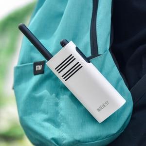 Image 4 - Original Xiaomi Beebest Smart Walkie talkie 1 5 km call 16 channel anti jamming Long standby handheld smart interphone