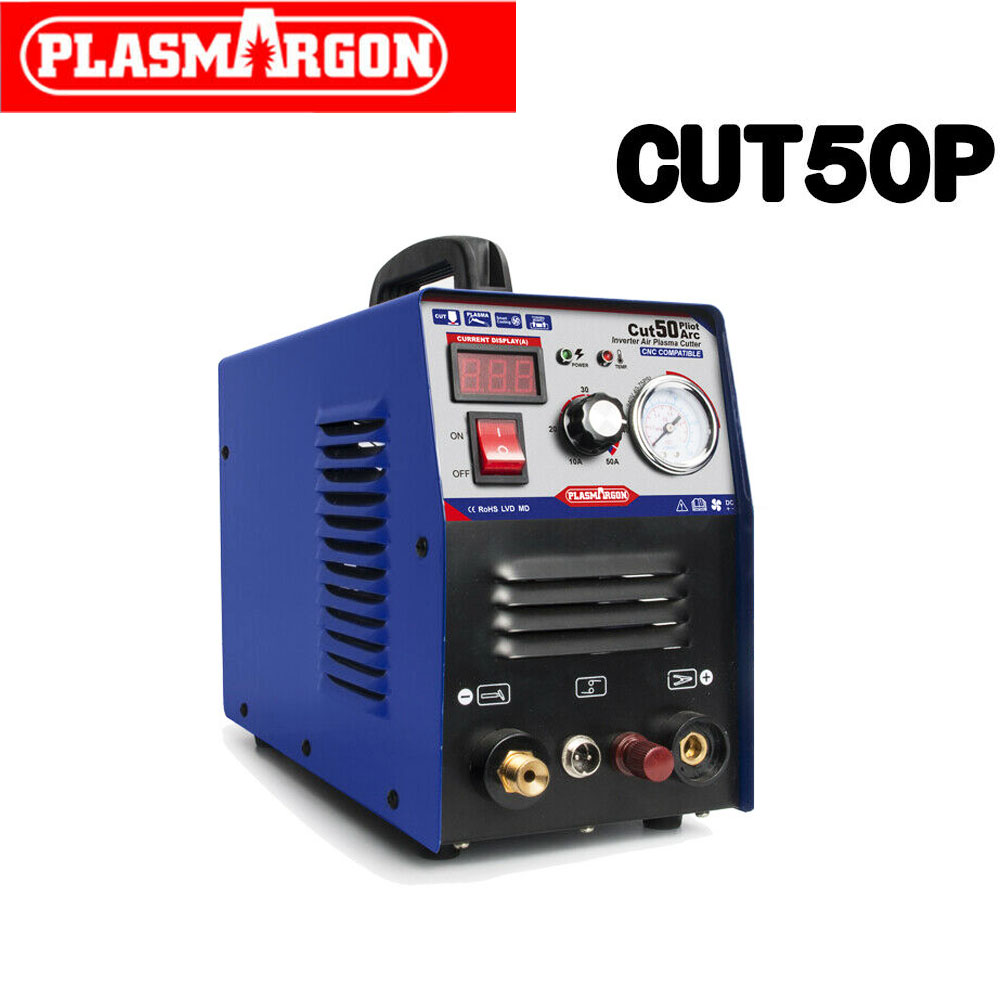 CUT 50 Compatible Plasma Cutter & Accessoires 10mm 50A  Plasma Cutter Pilot Arc CNC