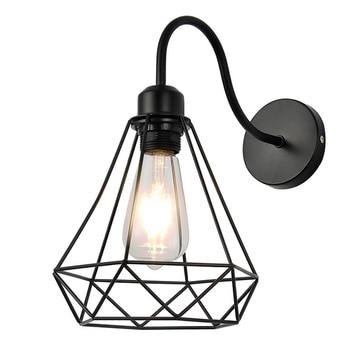 Retro lectura lámpara De Pared interior Loft lámpara De Pared Industrial dormitorio...
