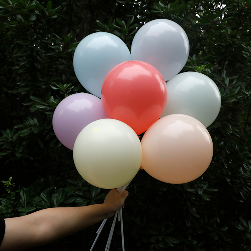 Image 5 - 30pcs 12inch Gold Silver Black Metal Latex Balloons Wedding Decorations Matte Helium Globos Birthday Party Decoration Adult-in Ballons & Accessories from Home & Garden