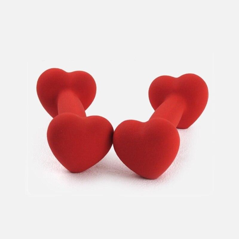 Gift For Your Girlfriend Heart-shaped Dumbbell  Gym Equipment Dumbbell Girl Woman  Home Exercise Dumbbells 1kg 2pc