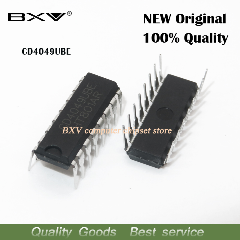 10PCS CD4049UBE DIP16 CD4049 DIP CD4049BE DIP-16 new original IC