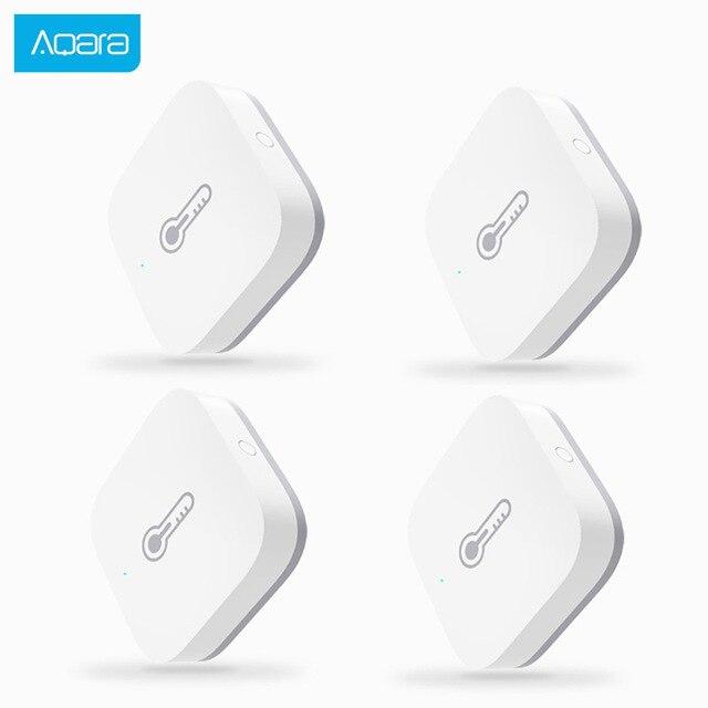 Aqara Temperature Humidity Sensor Intelligent smart Environment Sensor control via smart home APP Zigbee connection