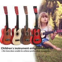 Guitar 25 Inch Basswood Acoustic Guitar with Bag Pick Strings for Children and Beginner Musical Instruments