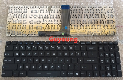Laptop US English Keyboard For MSI GT62 GT72 GE62 GE72 GS60 GS70 GL62 GL72 GP62 GP72 CX62 GS63VR GS73VR GT72VR GT83VR