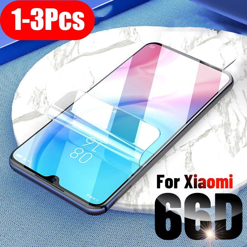 1-3Pcs Hydrogel Film For Xiaomi Mi A3 A2 Lite Screen Protector For Xiaomi Mi 8 9 Se Soft Protective Film Mi 9T Note 10 Pro(China)
