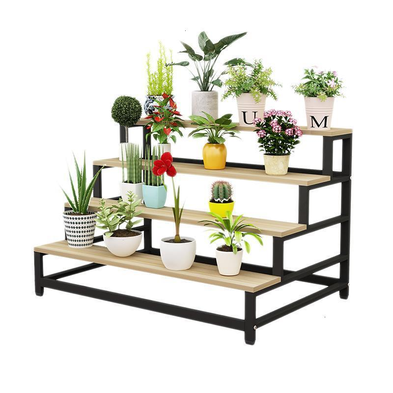 Flores Estanteria Jardin Plantenstandaard Table For Living Room Indoor Rack Balcony Outdoor Flower Stand Dekoration Plant Shelf