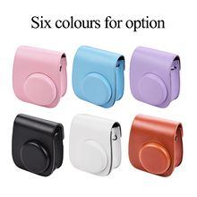 Bag-Holder Case Instant-Camera Mini Compatible PU with Portable 11
