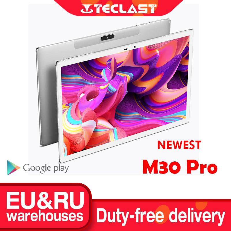 Teclast M30 Pro 10,1 Inch планшет P60 8 Core 4 Гб Оперативная память 128 Гб Встроенная память Android 10 Планшеты ПК 1920x1200 IPS 4G двухъядерный процессор Wi-Fi GPS на экран...
