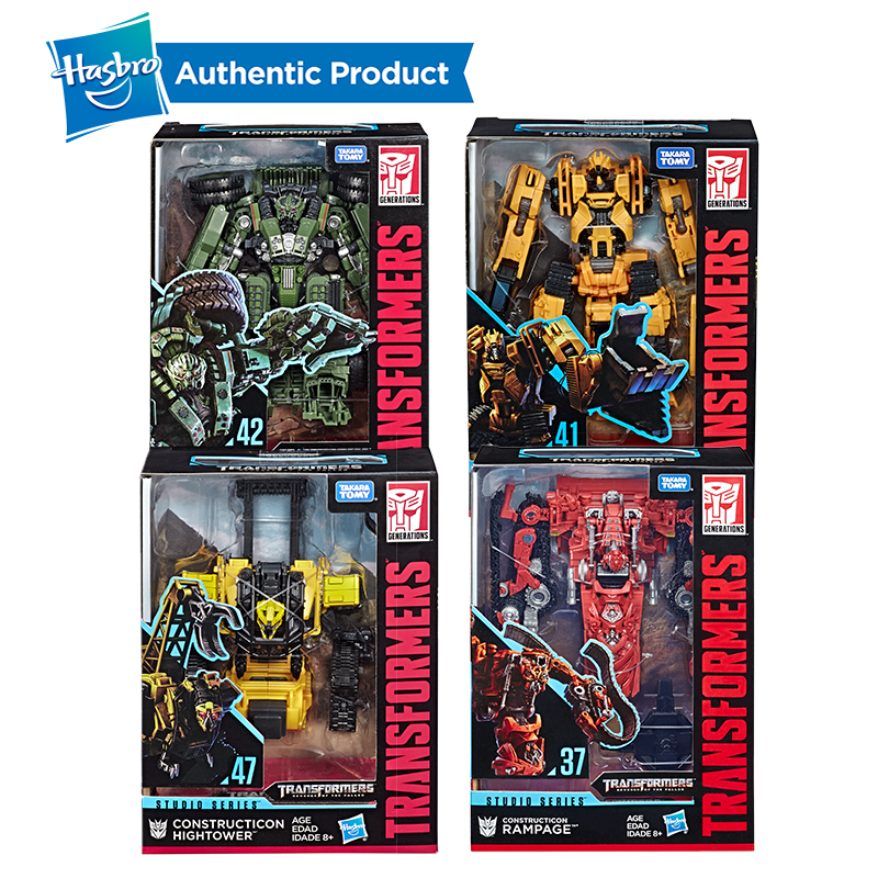 Hasbro Transformers Toys Studio Series Voyager Class SS42 Long Haul SS37 Construction Rampage SS47 High tower Action Figures in Action Toy Figures from Toys Hobbies