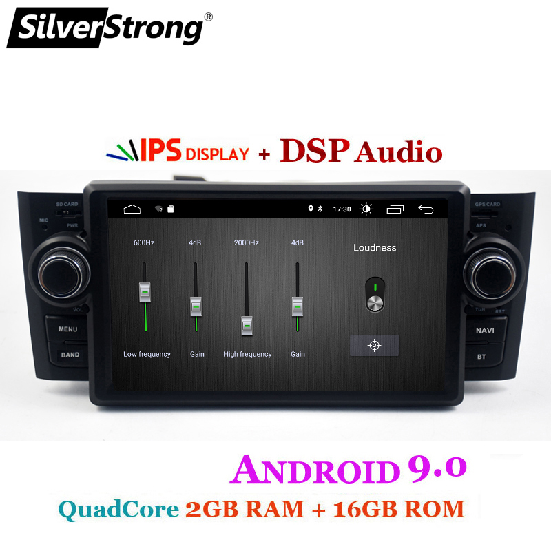 Car Multimedia player GPS Android 9.0 Car Radio 1 Din DVD Automotivo For Fiat Grande Punto Linea 2007-2012 Radio FM DSP bt wifi ips (4)