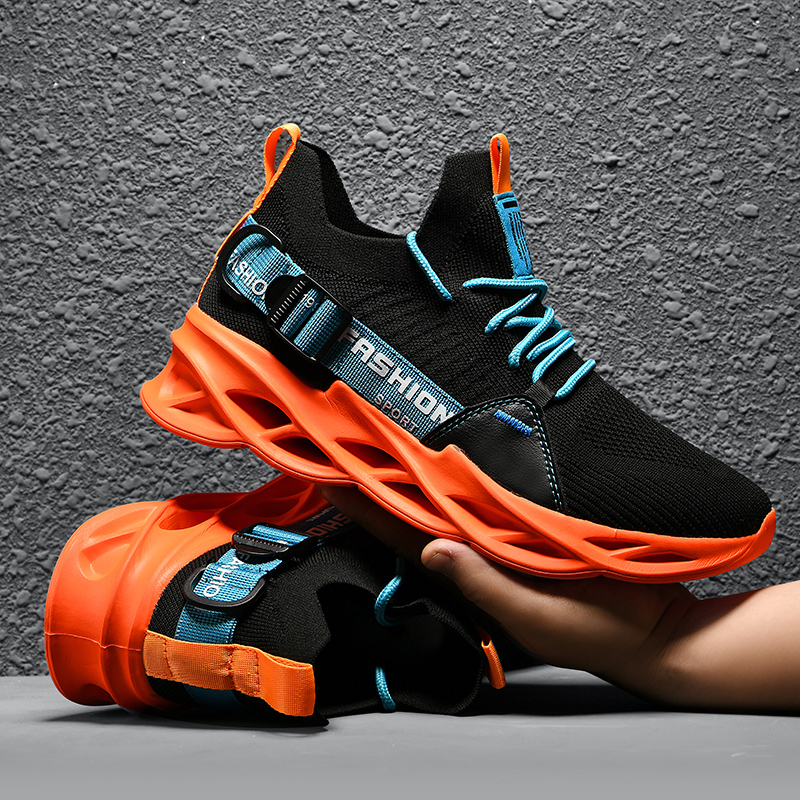 Men's Sneakers Mesh Breathable Big Size Sneakers Women Summer 2021 High Quality Platform Casual Light Soft Fashion Couple Shoes 3