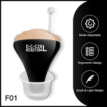 JF1 audífono Digital CIC amplificador de soporte auditivo, portátil, Invisible, para personas mayores, batería 312sound amplifierhearing aidhearing aid mini