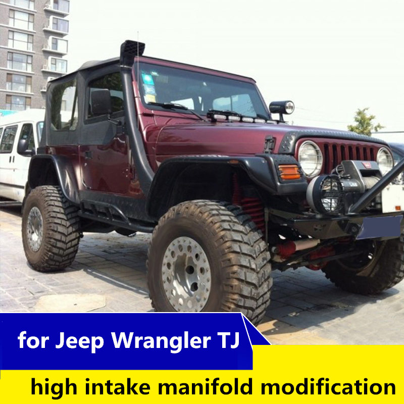 For Jeep Wrangler TJ Pickup Modification Wading Hose Wading High Intake Pipe Wrangler TJ Air Intakes Parts