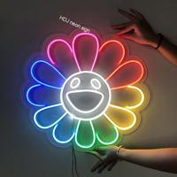 Letrero de neón personalizado con luz LED, logotipo para pared, decoración para el hogar, Bar, cafetería, tienda, cumpleaños, fondos de fiesta de casamiento, luz decorativa